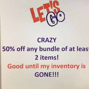 Other - 50% off at least 2 items-Any items!